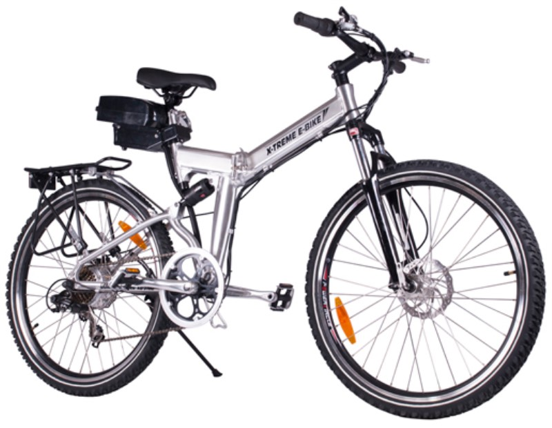 X Treme Xb 310li Folding Electric Mountain Bike X Treme Electric Bikes Urbanscooters Com