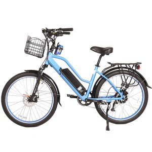 X-Treme Catalina 48v Step-Through Electric Beach Cruiser side