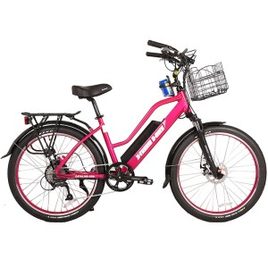 Pink Electric Beach Cruiser, the Catalina from X-Treme