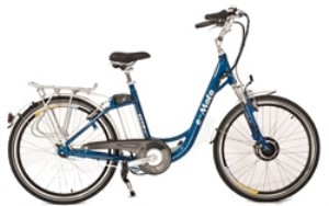 e-Moto Ecco 2.5 Electric 37 Volt Low Step 7-Speed Cruiser Bicycle