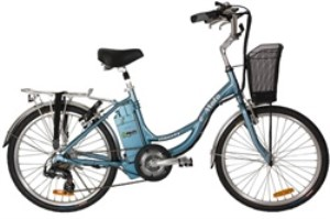 e-Moto Liberty 1.5 Electric 6 Speed Low Step Cruiser Bicycle