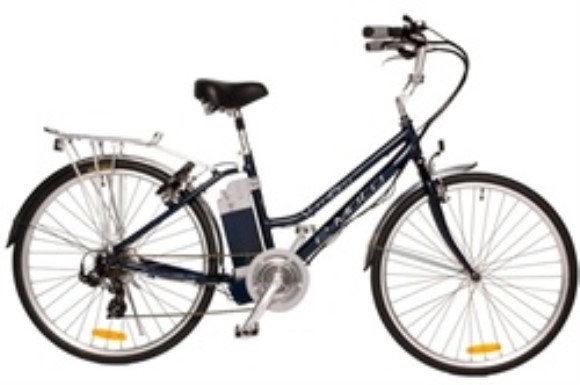 e-Moto Velocity 1.5 Electric 7 Speed Low Step Hybrid Bicycle