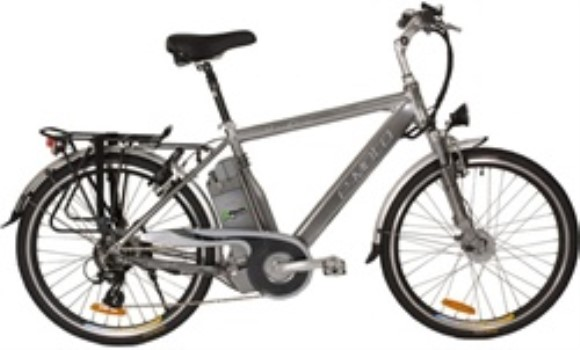 e-Moto Velocity 2.0 Electric 7 Speed Hybrid Bicycle