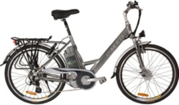 e-Moto Velocity 2.5 Electric 7 Speed Low Step Hybrid Bicycle