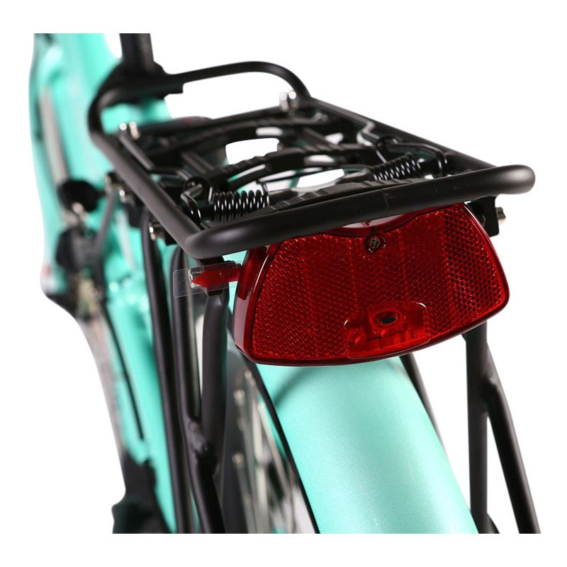 X-Treme Malibu Elite Max Electric Beach Cruiser bicycle rack
