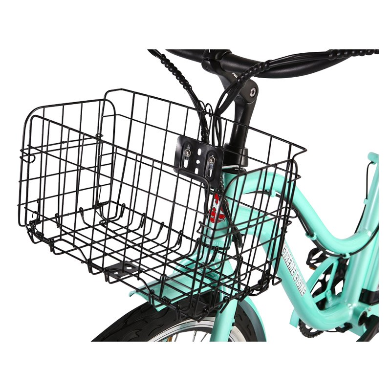 X-Treme Malibu Elite Max 36v Electric Beach Cruiser basket