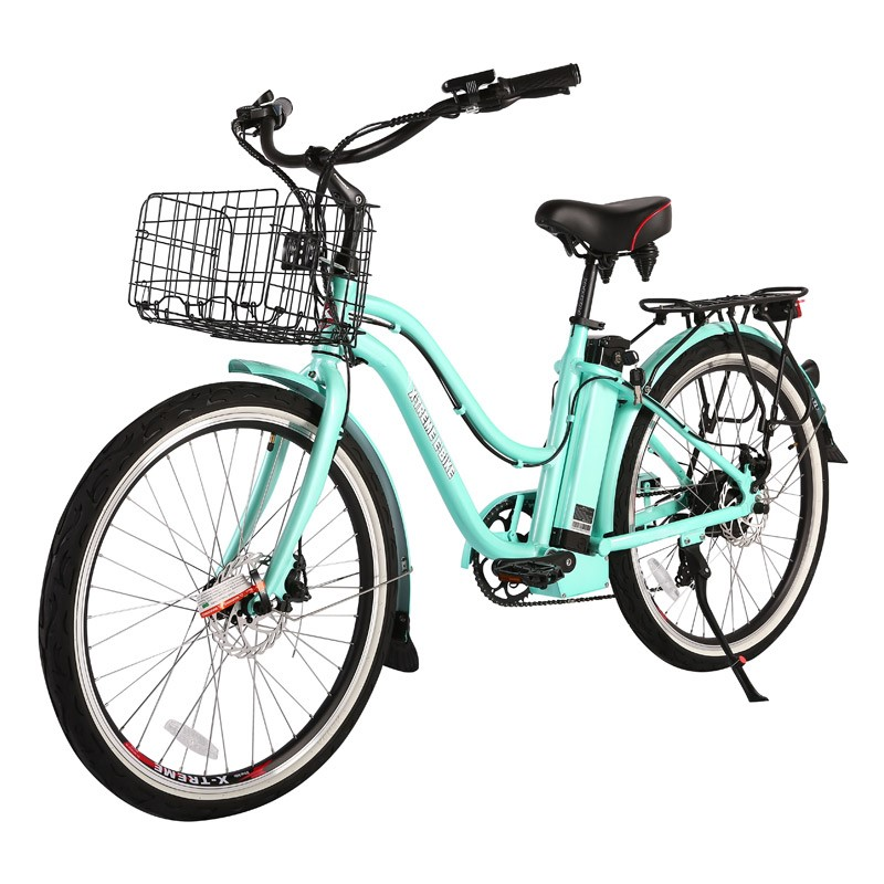 X-Treme Malibu Elite Max 36v Electric Beach Cruiser