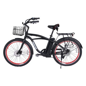 X-Treme Newport Elite 24v Electric Beach Cruiser side