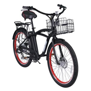 Men's 24 volt Electric Beach Cruiser bike, the Newport Elite from X-Treme