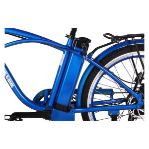 X-Treme Newport 24v Elite Electric Beach Cruiser lithium battery