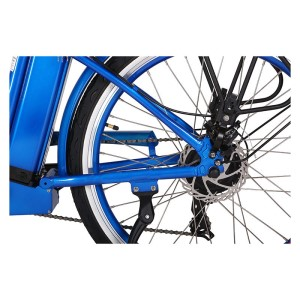 X-Treme Newport Electric Beach Cruiser rear wheel
