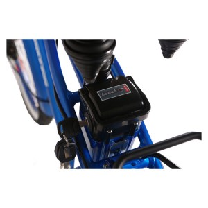 X-Treme Newport 24v Elite Electric Beach Cruiser lithium LiPo4 battery top