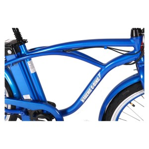 X-Treme Newport Elite 24 volt Electric Beach Cruiser Men's frame