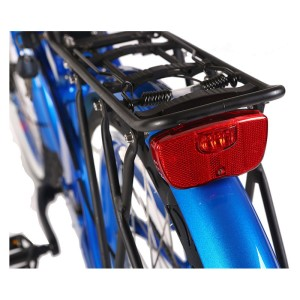 X-Treme Newport Electric Beach Cruiser rear rack