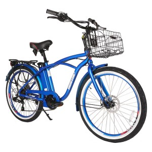 Men's Electric Beach Cruiser, the Newport Elite from X-Treme