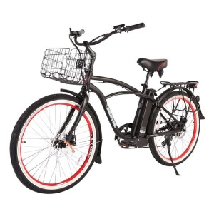 X-Treme Newport Elite Max 36v Men's Electric Beach Cruiser black