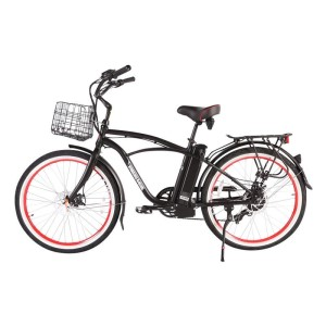 X-Treme Newport Elite Max Electric Beach Cruiser for Men