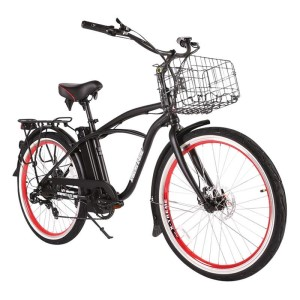 X-Treme Newport Elite Max Electric Beach Cruiser black
