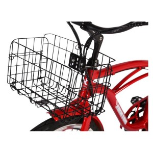 X-Treme Newport Elite Max 36 volt Electric Beach Cruiser basket