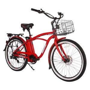Men's Electric Beach Cruiser, the 36 volt X-Treme Newport Elite Max