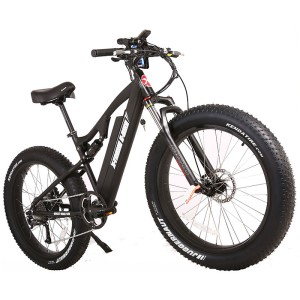 X-Treme Rocky Road 48v Fat Tire Electric Mountain Bike black