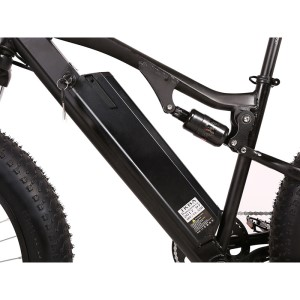 X-Treme Rocky Road 48v Fat Tire Electric Mountain Bike lithium battery