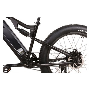 X-Treme Rocky Road Fat Tire Electric Mountain Bike frame