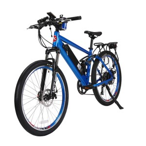 X-Treme Rubicon 48v Electric Mountain Bike metallic blue