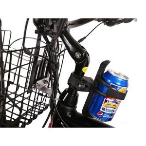 X-Treme Laguna Electric Beach Cruiser drink holder