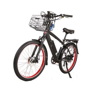X-Treme Laguna Electric Beach Cruiser bicycle black