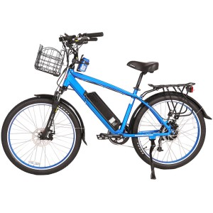 X-Treme Laguna Men's 48v Electric Bike Beach Cruiser