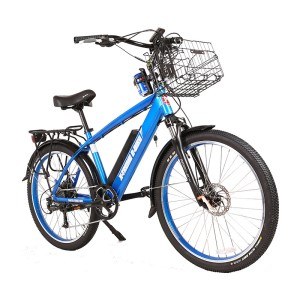 X-Treme Laguna 48v Men's Electric Beach Cruiser metallic blue