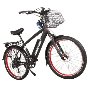 X-Treme Laguna 48v Men's Electric Beach Cruiser black