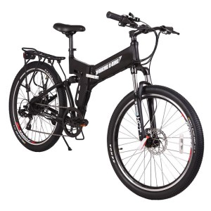 X-Treme X-Cursion Elite 24 Volt Folding Electric Mountain Bike black