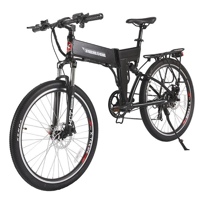 X-Treme X-Cursion Elite Max 36v Folding Electric Mountain Bike black