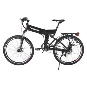 X-Treme X-Cursion Elite Max 36 Volt Folding Electric Mountain Bike side