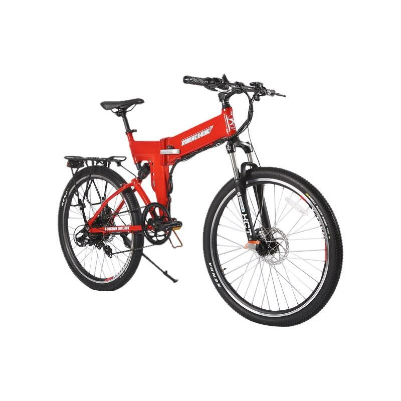 X-Treme X-Cursion Elite Max 36 Volt Folding Electric Mountain Bike