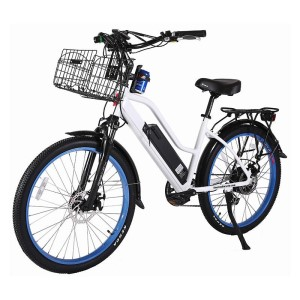 X-Treme Catalina 48v Step-Through Electric Beach Cruiser White