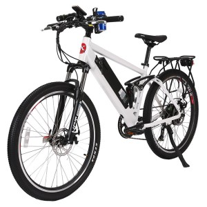 X-Treme Rubicon 48v Electric Mountain Bike metallic white