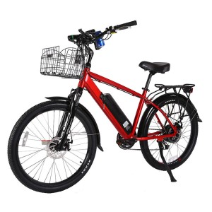 X-Treme Laguna 48v Electric Beach Cruiser metallic red
