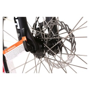 X-Treme Trail Climber front wheel