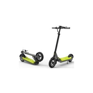 Magnum Imax S1+ Electric Scooter folded green