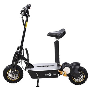 MotoTec 2000w 48v Electric Scooter side