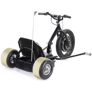 MotoTec Drifter 48v Electric Trike rear