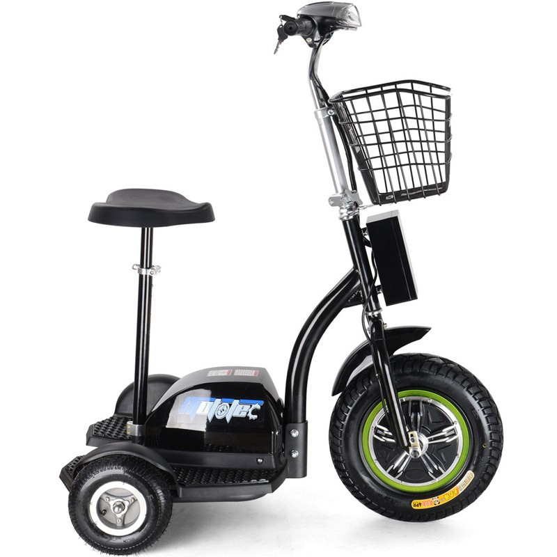 MotoTec Electric Trike 48v 500w side