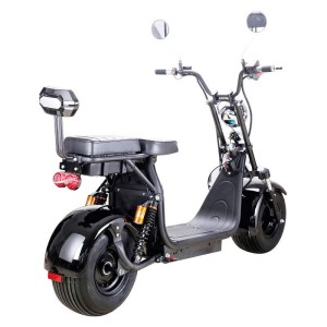 2000w Knockout Fat Tire Electric Scooter from MotoTec