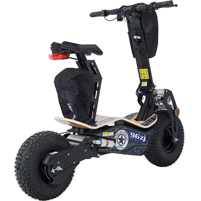 MotoTec MAD Velocifero 1600w 48v Electric Scooter