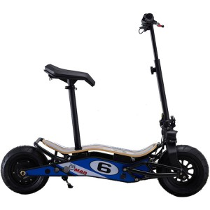 Commuter Lithium Powered Electric Scooter: The MiniMAD by MotoTec