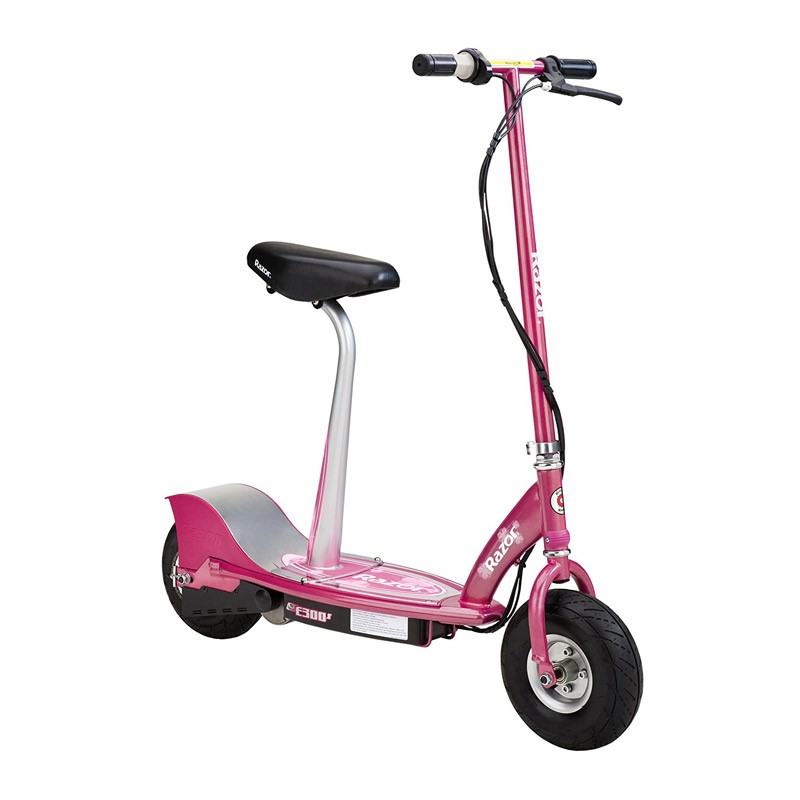 Razor E300s Sweet Pea Seated Electric Scooter | UrbanScooters.com