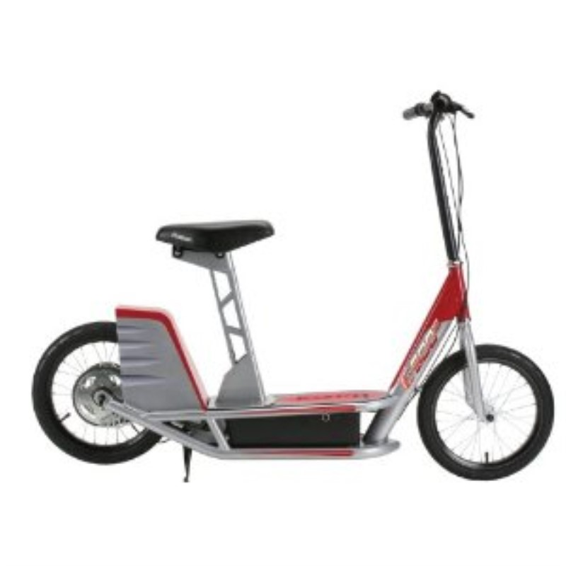 Razor Electric Scooter With Seat >> Razor E500 Seated Electric Scooter Razor Scooter Electric Scooters